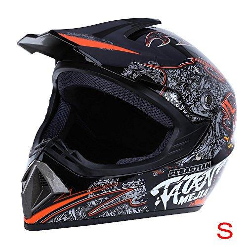 Zorbes WLT - 125 Safe Full Face Motocross Dirt Bike Racing Helmet Breathable Motorbike Mask