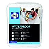Sealy Waterproof Mattress Pad, Full, White