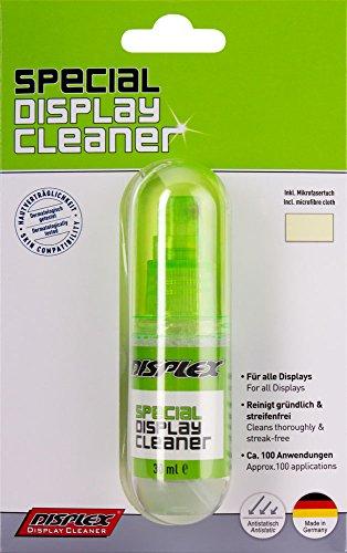 Displex Reiniger Sprühflasche mit Mikrofasertuch - Displex Display