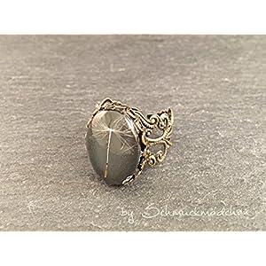 Ring Bronze Pusteblume