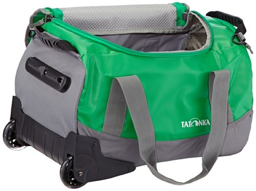 "Tatonka Rolltasche Barrel Roller ""S"", red, 1992 Lawn Green"