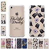 V-Ted Coque Apple iPhone 6S Plus 6 Plus Phrase Citation Chat Silicone Ultra Fine...