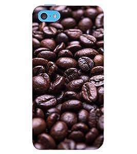 D KAUR Coffee Beans Back Case Cover for Apple I Phone 5C::Apple I Phone 5C