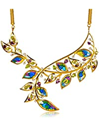 Miranika Gold Plated Pendant for Women (Multi-Colour)(C1D25ABPS1)
