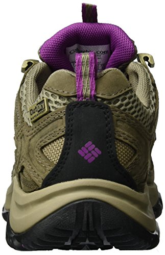 Columbia Terrebonne Outdry, Scarpe da Arrampicata Donna Marrone (Pebble/ Intense Violet)