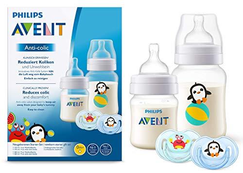 /REDUZIERT Koliken BPA-frei 6/x Philips Avent 260/ml Baby Fl/äschchen Serie Natural 1/Monat Anti-Kolik/