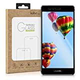 kalibri Huawei P9 Folie - 3D Glas Handy Schutzfolie für Huawei P9 - Auch für gewölbtes Display