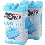 Cible Homewares® Lot de 6blocs Congélateur–Rafraîchit et garde la nourriture au frais–Utilisation avec cible Cool Boîte pour plus de refroidissement