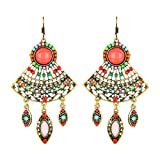 Moedbuille Ethnic Multi Color Dangler & ...