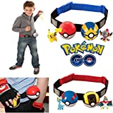 Hooriyas 2017 Get Ready For Pokemon Trainer, Adjustable Poke Ball Belt, Pokemon