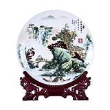 Liangliang988 Jingdezhen Taoshan Porcelain painting desktop decorazione accessori per la casa artigianato