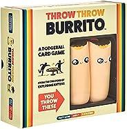 Throw Throw Burrito - Partyspel - Met twee Speelgoedburrito's - Voor de hele Familie - Taal: En