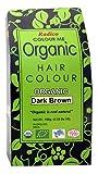Radico Colour Me Organic Pflanzenhaarfarbe Dunkelbraun dunkelbraun