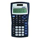 Texas Instruments TI-30x IIS Tasche–Taschenrechner (Hosentasche, wissenschaftlicher Taschenrechner, 11-stellig, 2Zeilen, blau)