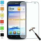 Owbb Film Protector de Pantalla Vidrio Cristal Templado Para Huawei Ascend G730 Smartphone (Ultrafino 0.3mm Cristal de Alta Calidad 9H Dureza)