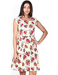 Zink London Women's Fit and Flare Dress