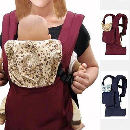 Botetrade Baby- und Kindertrage Bauch- R¨¹cken- H¨¹fttrage ab Geburt bis ca. 3 Jahre rot