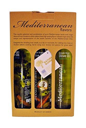 Mediterranean Flavour's Greek Extra Virgin Olive Oil 250 ml, 3-Piece