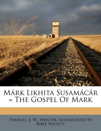 M rk Likhita Susam c r = the Gospel of Mark