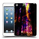 Head Case Designs Offizielle Haroulita Saturn-Blitz Raum Soft Gel Hülle für iPad Mini 1 / Mini 2 / Mini 3