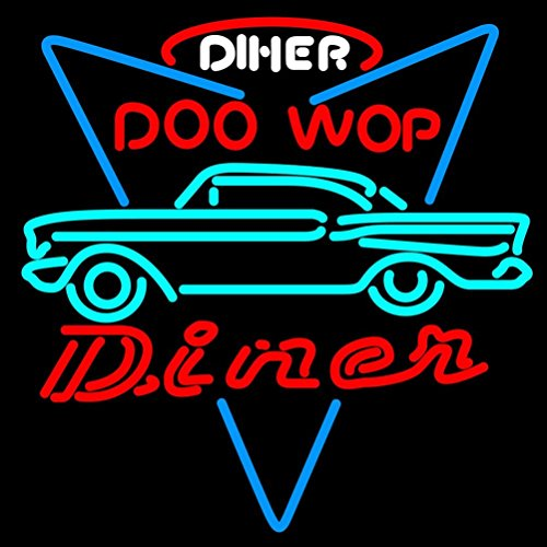 New Diner Design Decorate BEER BAR REAL GAS NEON GLASS TUBE LIGHT SIGN 18X15 Inches