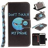 Chreey Coque Apple Iphone 6 / 6S (4.7 pouces),PU Cuir Portefeuille Etui Housse Case Cover ,carte de crédit Fentes pour ,idéal pour protéger votre téléphone