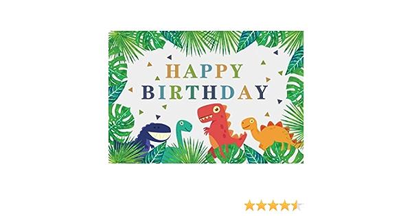 Ofila Kinder Dinosaurier Geburtstag Hintergrund Kamera