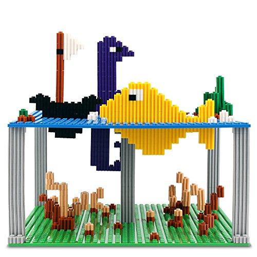 Nextx 4 piani base compatibili con giochi di costruzioni for 4 piani di box auto con abitazione