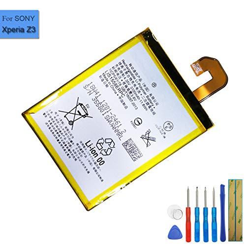 Ion de polímero de Litio batería de Repuesto LIS1558ERPC Compatible con Sony...