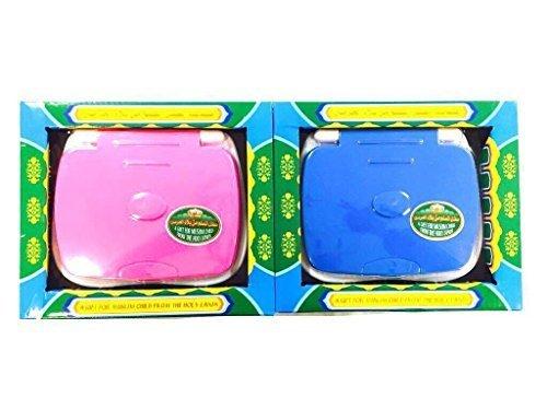 Laptop Koran für Kinder mit 18 Suren blau