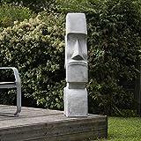 wanda collection Statue Moaï île de Pâques Jardin Zen 1m20