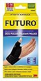 Futuro Tutore Stabilizzatore per Pollice Destro/Sinistro, S/M, Pollice: 5.0-6.3 cm, Polso: 12.6-17.7 cm, Dispositivo Medico Marcato CE, Nero