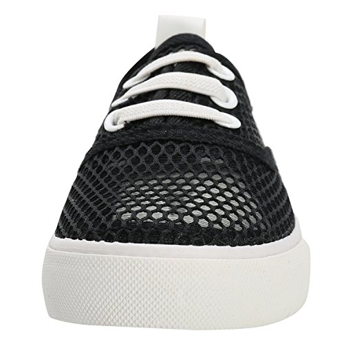 Alexis Leroy Net, Sneaker a Collo di tela Basso Bambina Nero