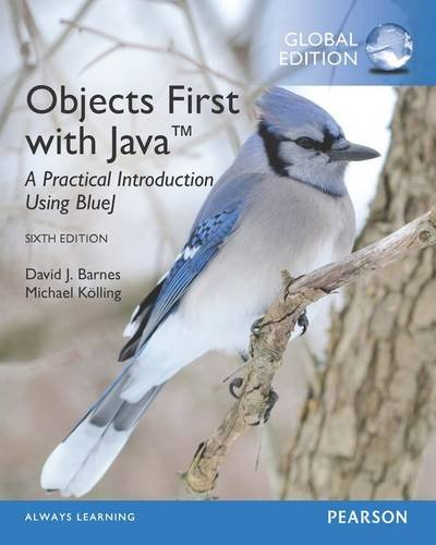 Objects First with Java: A Practical