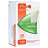NICORETTE 4 mg freshfruit Kaugummi 105 St