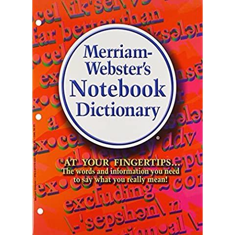 Merriam-Webster's Notebook Value Pack: Dictionary, Thesaurus, Spanish-english Dictionary by Merriam-Webster