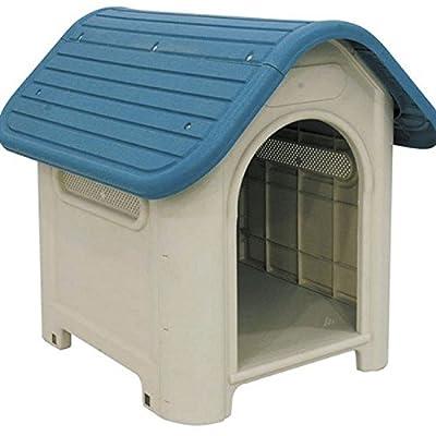 """Suinga - Caseta de Plástico para Perros """"Dog-House"""" Medidas (frente, fondo, alto) 59x75x66 cm. Fabricado en España."""