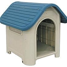 Suinga - Caseta de Plástico para Perros Dog-House Medidas (Frente, Fondo,