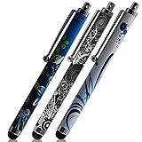 Seluxion - Pack de 3 Stylets universels pour Tablette Asus ZenPad 10 , ZenPad 8, ZenPad 7 motif HF08, HF09, HF18