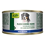 Kölle Nassfutter für Hunde Fleischmenü Huhn, 200 g