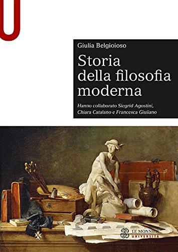 scaricare ebook gratis Storia della filosofia moderna PDF Epub