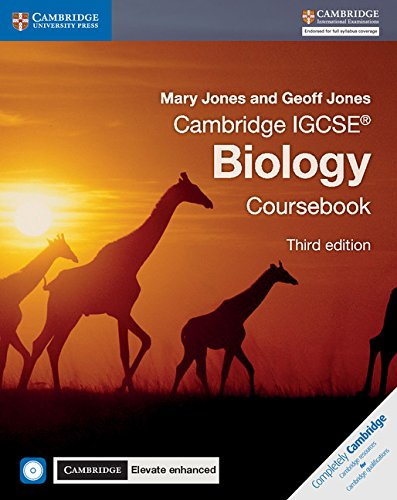 Cambridge IGCSE biology. Coursebook-Cambridge elevate. Enhanced edition. Per le Scuole superiori . Con e-book. Con espansione online. Con CD-ROM (Cambridge International IGCSE)