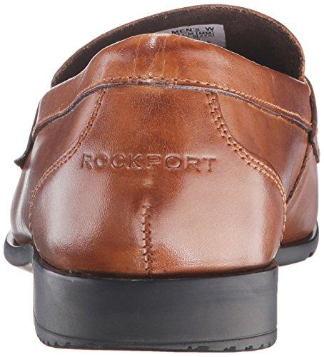 Rockport - Herren Klassische Loafer Penny Schuhe Cognac