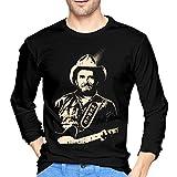 Photo de Godetss Merle Haggard Men Long Sleeve T Shirt Round Neck Cotton Tee par Godetss