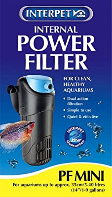 Interpet Internal Aquarium Power Filter for Fish Tanks