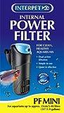 Interpet 2200 Internal Aquarium Power Filter PF Mini for Fish Tanks - Black/Blue