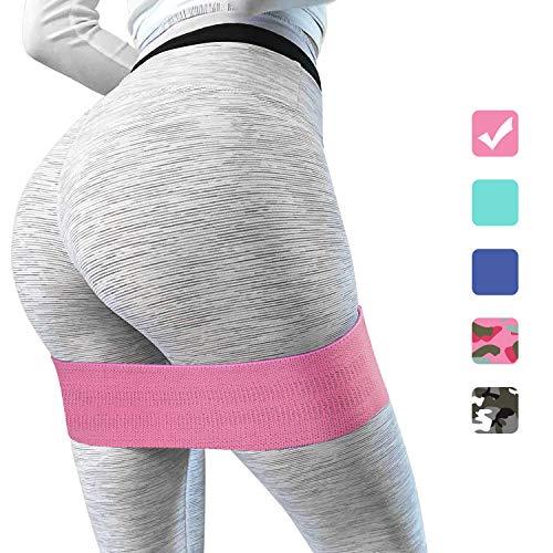 Arteesol Hüftkreis, 66 cm / 76 cm, für Booty Builder Widerstandsbänder elastisches rutschfestes Design für Frauen, ideal für Beinübungen, Butt Lifting Active Beinmuskulatur, Kniebeugen Yoga Cross-Fit