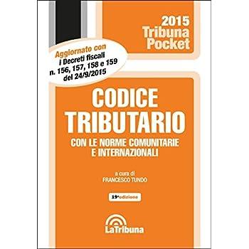 Codice Tributario Con Le Norme Comunitarie E Internazionali
