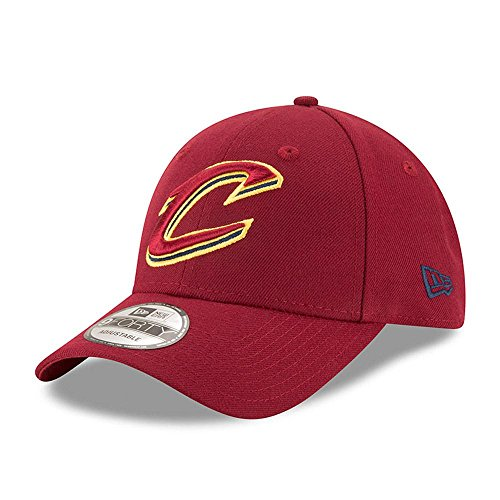 New Era 9FORTY NBA Cleveland Cavaliers Kappe, Rot, One Size