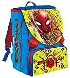 Zaino Estensibile Big Marvel Spider-Man, 28 Lt, Blu e Rosso, Con Gadget Abbinato! Scuola & Tempo Libero
